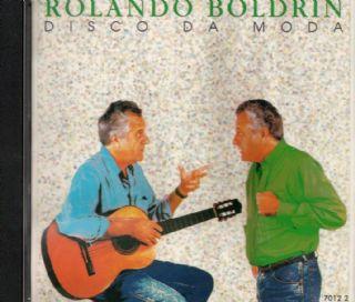CD ROLANDO BOLDRIN - DISCO DA MODA