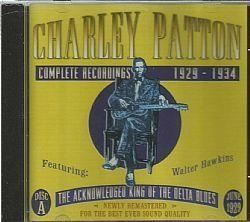 CD CHARLEY PATTON - COMPLETE 1929-1934 DISC A (USADO-OTIMO)