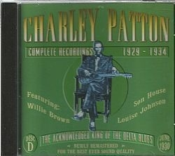 CD CHARLEY PATTON - COMPLETE 1929-1934 DISC D
