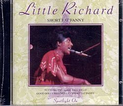 CD LITTLE RICHARD - SHORT FAT FANNY (NOVO/LACRADO)