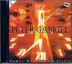 CD PETER GABRIEL - GAMES WITHOUT FRONTIERS (USADO/OTIMO)