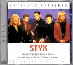 CD Styx - Extended Versions: The Encore Collection