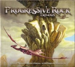 Cd Progressive Rock Trilogy (03 Cds) (varios)